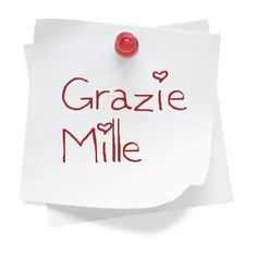 Grazie mille My Happy Place, Happy Day, Italian Greetings, Sweet Hug, Messages For Friends, Thank You Greetings, Italian Quotes, Attitude Of Gratitude, Good Morning Good Night