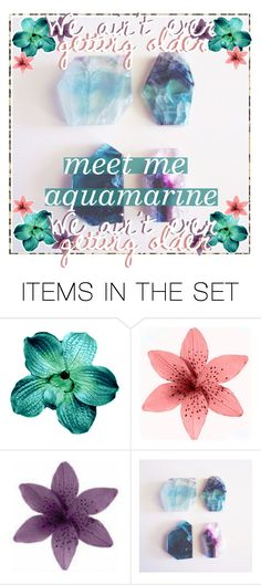 """meet me ;; aquamarine"" by the-gemstone-tippers ❤ liked on Polyvore featuring art and country"