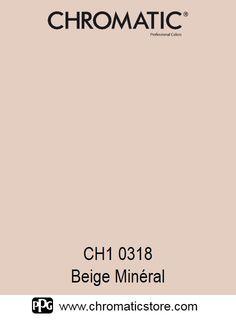 Finalisez votre projet #peinture avec le #Beige Minéral CH1 0318 en vous rendant dans l'un de nos points de vente partenaires. Trouvez votre distributeur sur www.chromaticstore.com