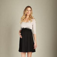MA scoop neck front tie dress Baby Bump Maternity 504.304.2737 call us and we'll ship :)