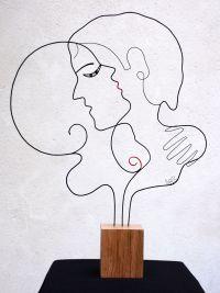 Oeuvre Et si on s'aime... de l'artiste LoR, Laure Simoneau