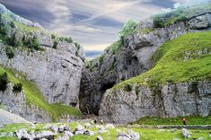 Malham Cove, Malham Tarn and Gordale Scar Walk Yorkshire England, Yorkshire Dales, North Yorkshire, Places To Travel, Places To See, Northern England, British Countryside, England And Scotland, Gardens