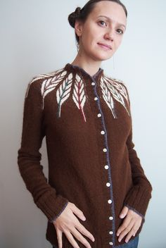 oPinionated cardigan by Dayana Knits - Pinion pattern from Twist Collective by Christa Giles.  Click for blog, Ravelry here: http://www.ravelry.com/projects/dayana/pinion