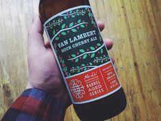 Van Lambert Sour Cherry Ale by Riley Cran