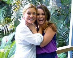 Adriana Esteves e Claudia Abreu   atrizes Brasileiras