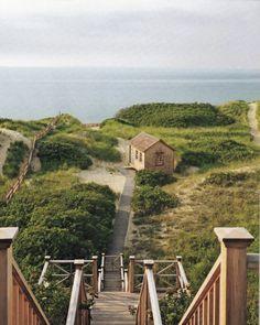 one day, beaches, back doors, stairs, martha vineyard, dream, islands, sea, place