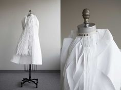 Ying Gao - Walking City: dresses that respond to air, movement and touch