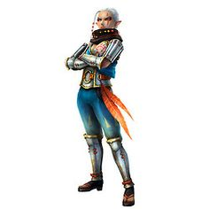 Hyrule Warriors - Character Art - Impa (now playable)