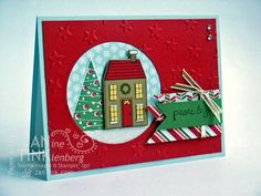 Holiday Home Workshop Card by JanTInk - Cards and Paper Crafts at Splitcoaststampers