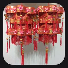 CNY lanterns (2014) for my girls' classroom.