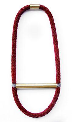 LIMITED XMAS EDITION Brass tube & Dark Red velvet by myLifebox