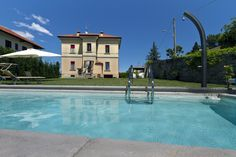 Holiday villa Pace for rent in Soriso, Lake Orta - Italy luxury vacation rentals Holiday Rentals, Villa With Private Pool, Northern Italy, Luxury Villa, Vacation Rentals, Mansions, House Styles, Luxury Condo, Mansion Houses
