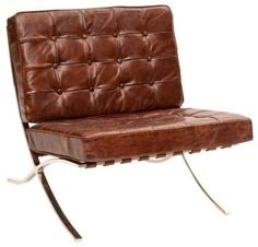 mid century modern leather chairs | Hugo Leather Chair contemporary chairs