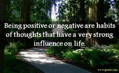 Being positive or negative are habits of thoughts that have a very strong influence on life.this is true! work on positive thinking Positive Outlook On Life, Positive Thoughts, Positive Quotes, Words Can Hurt, Words Worth, Mom Qoutes, Social Media Strategist, Deep Thinking, Zen Meditation