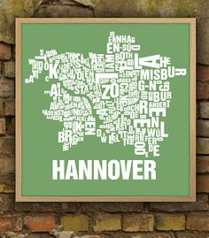 Poster Hannover Maschsee