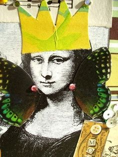 Would you like to assemble a collage using your own face in a Mona Lisa setting.  Access and PRINT PDF file @ http://partycraftsecrets.com/page.php?page=23