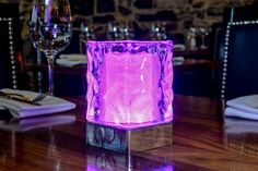 ICE (set of 2)    Price Includes Two (2) Cordless, Rechargeable Table Lamps  INMOOD™ TABLE LED LIGHTING  ELEGANT CORDLESS LED TABLE LAMPS FOR RESTAURANTS, HOTELS & HOMES – CAN BE USED INDOORS AND OUTDOORS – MULTI-COLOR REMOTE-CONTROL