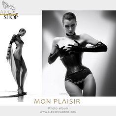 "Photo-album ""MonPlaisir"" - extremely elegance sensual look women. #blackwhite #nu #fashionerotica #fashionnude"