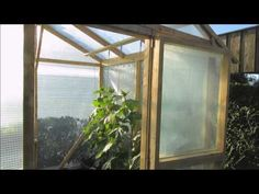 ▶ Gewächshaus selber bauen - YouTube