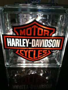 "8"" x 8"" Harley glass light block"