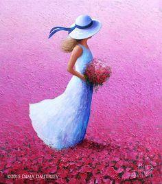 The Summer Vibe - Painting, 90x80 cm ©2015 par Dima Dmitriev - Peinture, Huile, Toile,