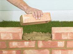 How to Build a Brick Garden Wall   DIY Hardscape   Building Retaining Walls, Walkways, Patios & More   DIY