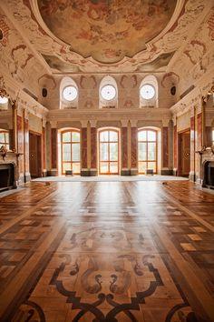 Festsaal im Schloss Belvedere