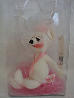 Breast Cancer Awareness Doll by Annalee by TheLilToad on Etsy, $25.00