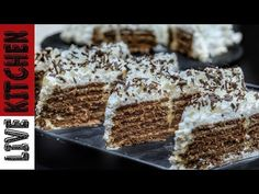 Dessert Recipes, Desserts, Kitchen Living, Food Inspiration, Food And Drink, Sweets, Youtube, Yum Yum, Cakes