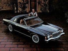 1977 Chrysler Cordoba. I believe that's Ricardo Montalban.