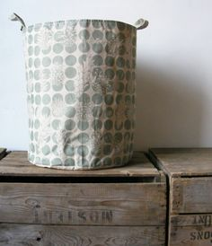 Photo Blog August 31 Jenna Rose Textiles Storage Bin