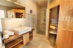 Sauna und Dusche nebeneinander Decor, Furniture, Vanity, Home Decor, Bathroom Mirror, Framed Bathroom Mirror, Bathroom Vanity, Bathroom, Sauna