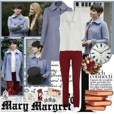 """""""Mary Margaret - Of Once Upon A Time"""" by opelazar on Polyvore"""