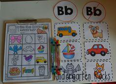 Beginning sound practice for kindergarten and preschool.