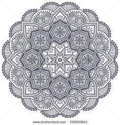 Mandala Stok Vektörler ve Vektör Küçük Resmi   Shutterstock