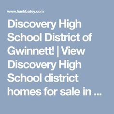 Discovery High School District of Gwinnett! | View Discovery High School district homes for sale in Lawrenceville, GA