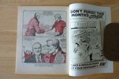 Football Picture Story Monthly Number 96 Back Cover Glenn Hysen Liverpool | eBay