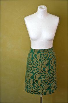 green pencil skirt!