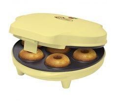 Bestron Máquina de hacer donuts vainilla 700 W ADM218SD