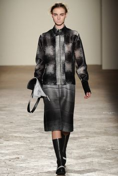 Gabriele Colangelo | Fall 2014 Ready-to-Wear Collection | Style.com woven top