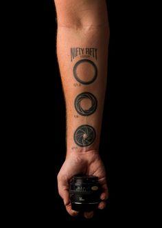 Forearm Tattoo Ideas and Designs 48-f-stop tattoo