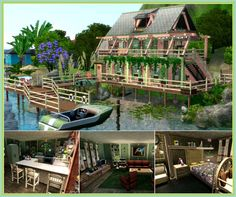 Fisherman's cottage by JarkaD - Sims 3 Downloads CC Caboodle
