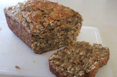 Bannana, oatmeal,yogart bread, delicious and so moist!