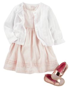Heritage Floral Dress for Girls 2Y-5Y OshKosh BGosh Blue