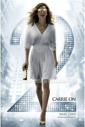 """Celebrity Dresses Sarah Jessica Parker White Short Cocktail Party Dress in """"Sex And The City"""" 2"""