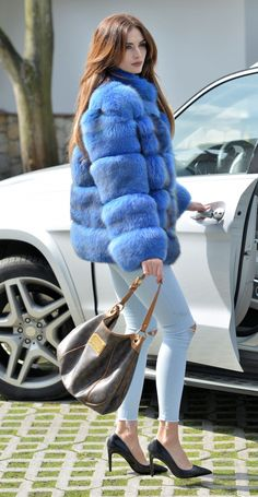 fox furs - new 2015/ 2016 saga fox fur jacket
