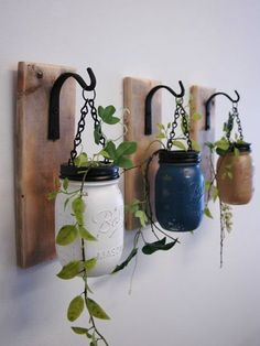 HOME DZINE Craft Ideas |  Crafty ideas for hanging plants