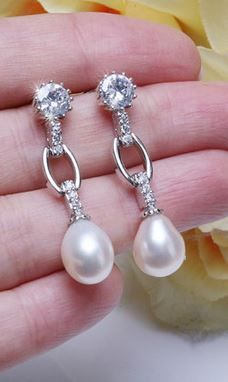 pearl drops. gorgeous!