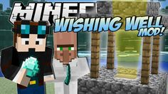 Minecraft | WISHING WELL MOD! (Riches, Lucky Villagers, Blocks & More!) ...
