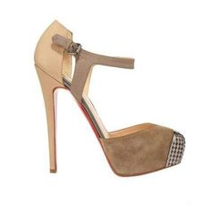 christian louboutin boulima 160mm pumps camel